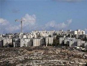 Израильские власти не намерены отказываться от строительства на спорных территориях