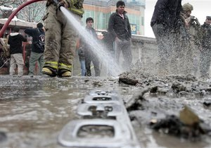 Террорист взорвал себя возле минобороны Афганистана, есть раненые. Талибы заявляют о 17-ти погибших