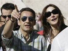 Саркози публично признался в чувствах к новой возлюбленной