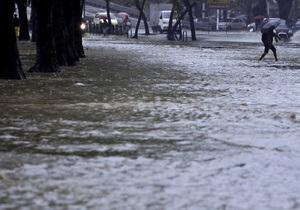 15-часовой ливень привел к наводнению в Рио-де-Жанейро: погибли 66 человек