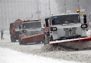 В трех областях Украины осложнено транспортное движение