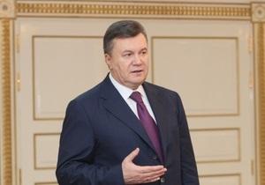 Янукович разработал программу развития страны