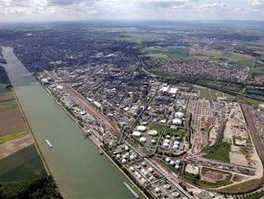 В Рейн вылилось 10 тонн химических отходов