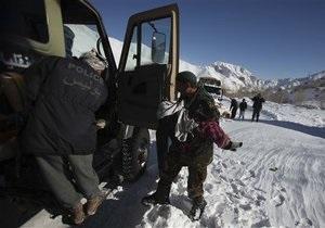 Жертвами лавин в Афганистане стали более 60 человек