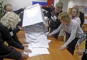 Выборы в Госдуму: Единая Россия набирает почти 50% после обработки 95% протоколов