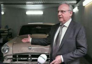 Донецкому губернатору на день рождения подарили тюнингованный Москвич