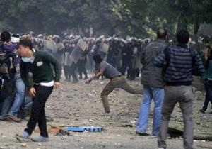 В Каире возобновились столкновения демонстрантов с полицией