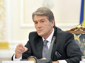 Ющенко призвал РФ предоставить факты участия украинцев в конфликте на Кавказе