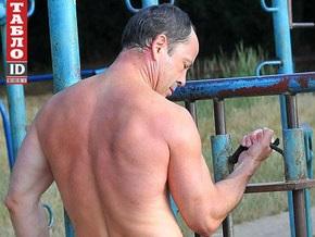 Сергей Тигипко показал в Одессе голый торс