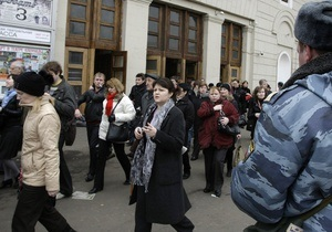 СМИ: Российские спецслужбы знали о подготовке терактов в московском метро