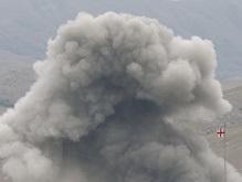 AFP: На военной базе в Сенаки прогремели четыре взрыва