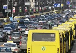 В Киеве на Лесном массиве отменили частные маршрутки