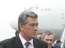 Ющенко прибыл в Египет с двухдневным визитом