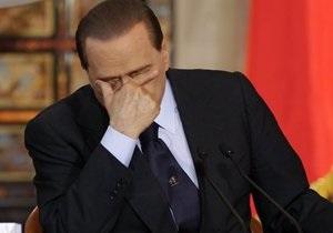 Новости Италии - Бывший премьер-министр Италии Сильвио - Берлускони отменил предвыборное выступление в связи с конъюнктивитом- выборы в Италии