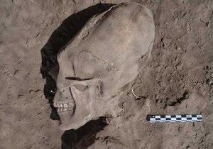 Мексиканские археологи нашли череп  инопланетянина