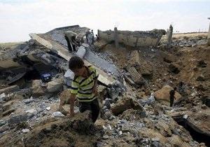 Израильская авиация второй день наносит удары по сектору Газа
