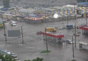 Власти Харькова выделили 10 млн грн на ликвидацию последствий сильного ливня