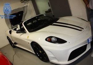 Испанцы продавали подделки Ferrari по 40 тыс. евро за штуку