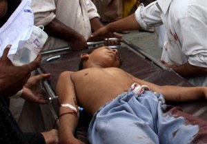В результате взрыва у мечети в Пакистане погибли четыре человека