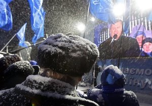 Регионалы заявили, что не будут устраивать драку во время митинга БЮТ в центре Киева
