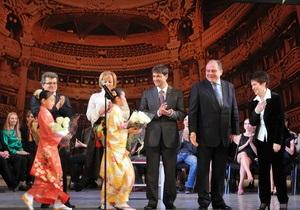 Первая леди Украины наградила победителей конкурса балета