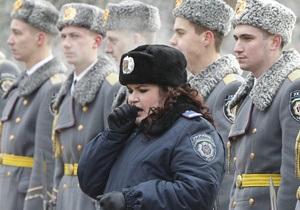 МВД планирует снять сериал об украинской милиции
