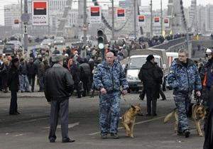 Усилена охрана сотрудников посольства Украины в России