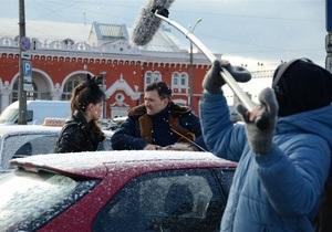 Фотогалерея: Полярный рейс. В Украине завершились съемки новогодней комедии