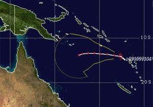 Тропический циклон Улуи приближается к Австралии