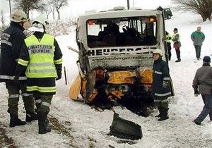 Крупное ДТП в Австрии: шесть человек погибли, 37 ранены