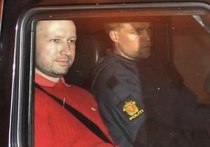СМИ обнародовали запись звонков Брейвика в полицию