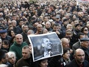 Акция протеста в Тбилиси: Перед Грузией стоят две опасности - это Саакашвили и Россия
