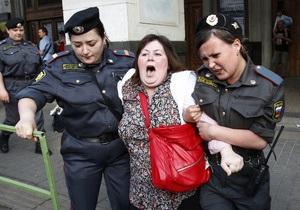 В Москве задержали 135 участников Марша несогласных