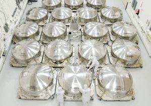 Первые секции зеркала телескопа Джеймс Уэбб готовы