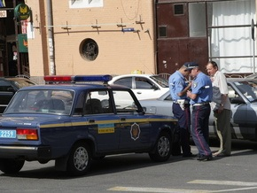 В Сумской области ГАИ открыла огонь по машине с пьяным водителем