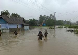 Кабмин выделил почти 67 млн гривен на ликвидацию последствий наводнения в Одесской области