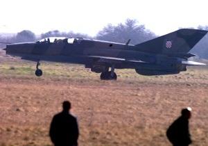 В Хорватии столкнулись два истребителя МиГ