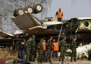На месте авиакатастрофы под Смоленском найден уцелевший самописец