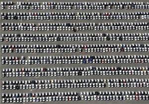 В Украине падают объемы производства легковых авто