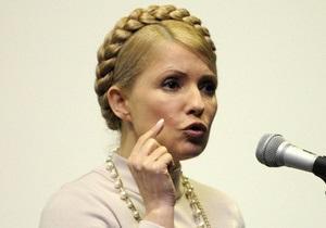 Сегодня на Интере выступит Тимошенко
