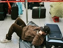 В Германии бастуют служащие аэропортов