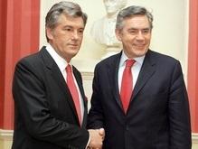 Ющенко посетит Великобританию