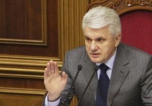 Литвин объяснил, почему в Раду пришел не Пшонка, а его заместитель