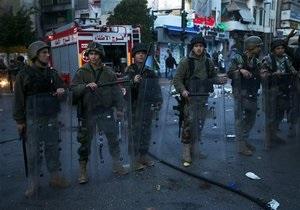 На севере Ливана идут ожесточенные бои, в Триполи отключена сотовая связь