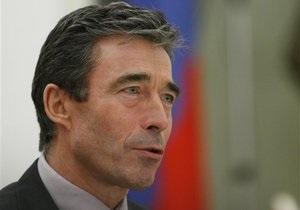 Расмуссен: НАТО не пойдет на компромисс с Россией по вопросу Грузии