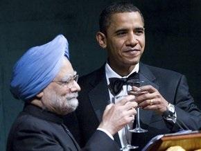 Обама провел первый официальный обед в Белом доме
