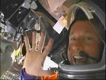 Discovery доставил на МКС новый насос для туалета