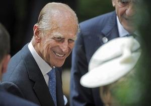 Муж британской королевы празднует 92-летие в больнице