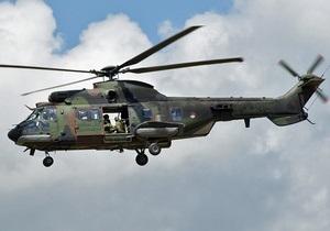 Число жертв крушения вертолета во Франции возросло