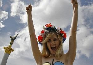 FEMEN: Митинг на Майдане имеет фальшивую природу